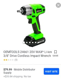 OEM Impact Wrench