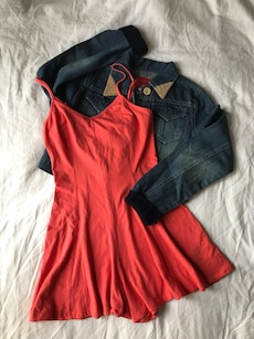 M Urban Outfitters Coral Romper
