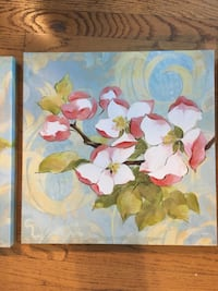 Canvas paintings qty 3 San Diego County