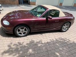 2000 Mazda MX-5 Miata SPECIAL EDITION 6SP Manual