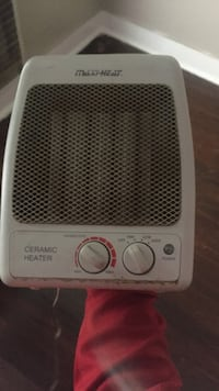 White ceramic heater Clarksville, 37043