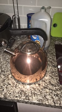 Copper Tea Pot, Stainless Steal Inside 40 km
