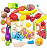 Wooden cutting food set pick up today 2/23 for $10