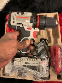 Black and gray cordless power drill Las Vegas, 89156