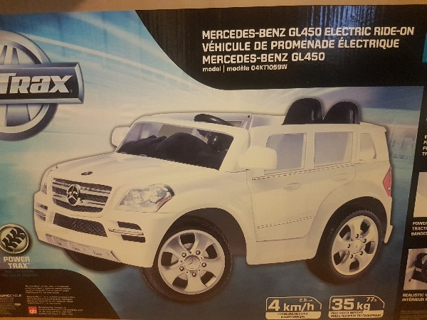 Kid Trax Mercedes Benz Gl450 Electric Ride On