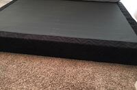 black and brown wooden bed frame Houston, 77005