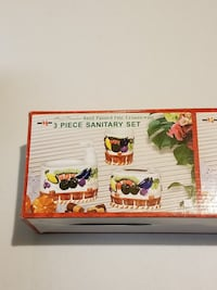 3 Pieces Ceramic Sanitary Set Milton