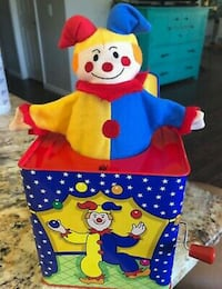 Schylling Jack-In-The-Box Toy West Columbia, 29170
