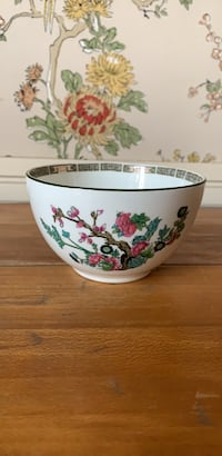 Antique Maddock & Sons Indian Tree Soup Bowl Hagerstown, 21742