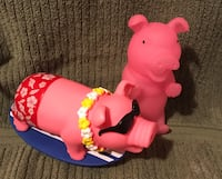 Plastics pigs that make noise when squeeze   Holbrook, 11741