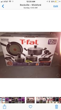T fal 12 pc stoves etc Rockville, 20852