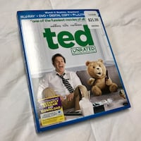 Like New Ted Unrated Blu-Ray Disc Whittier, 90605
