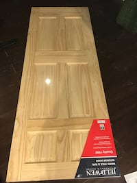 6 Panel Pine Interior Door 30x80 Springfield, 22153