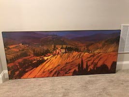 Artwork-Large print of Tuscany for sale