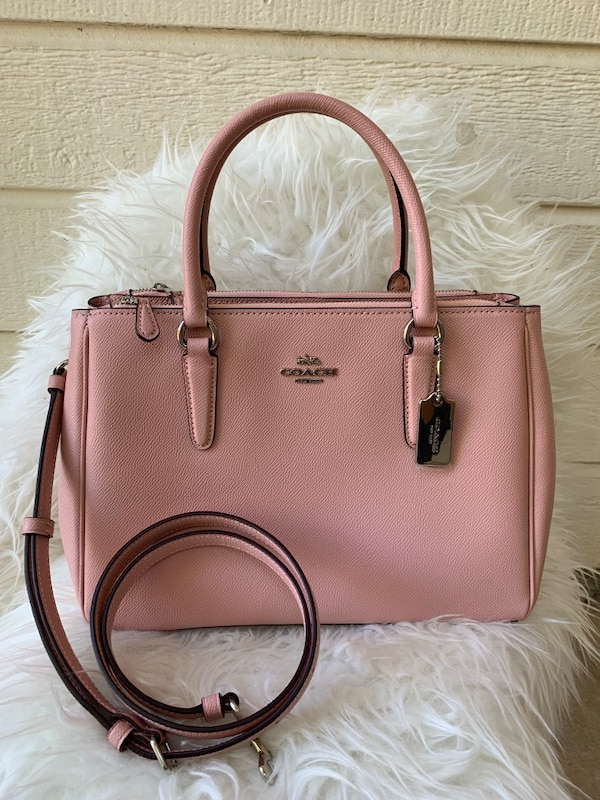 4e2e774598ab Used Coach Surrey Carryall Satchel Crossbody for sale in Arlington - letgo