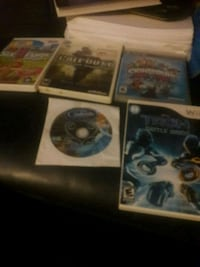 two assorted PS3 game cases Pontiac, 48342