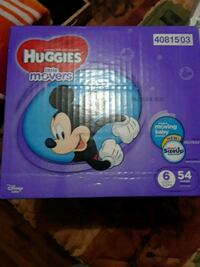 two Huggies Little Movers diaper boxes South Salt Lake, 84115