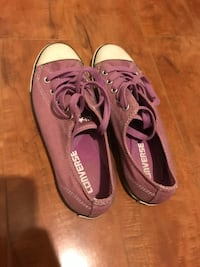 Pair of purple converse all star low-top sneakers Washington, 20002