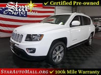 2016 Jeep Compass 4WD 4dr High Altitude Edition Bethlehem
