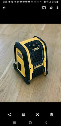 The DCR006 Jobsite Bluetooth Speaker is powered by AC/DC and runs off  Toronto, M5V 3W5