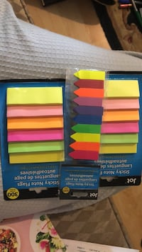 colorful post it notes East Meadow, 11554