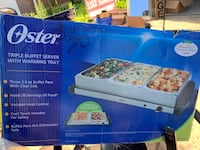 OSTER BUFFET SERVER & WARMING TRAY Courtice, L1E 1Y8