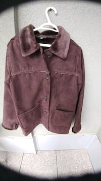 Men's suede coat (with a FREE gift! plz read info) Kitchener, N2G 4X6