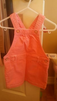 2T brand new pink corduroy dress  Mississauga, L5M 4E8