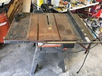 black and gray table saw Walnutport, 18088