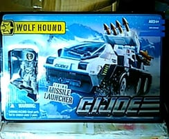 G.I. Joe vehicle Wolf Hound *MINT with figure