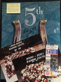 Profusely Autographed Barrie Colts 1999-2000 Memorial Cup Finalists  Toronto, M4V 2C1