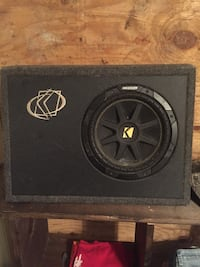black Kicker subwoofer with enclosure Tallahassee, 32303