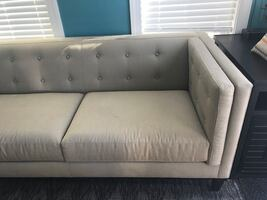 Crate and Barrel Aida Sofa and Chair