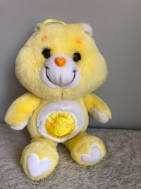 Kenner Vintage Funshine Yellow Care Bear Plush Stuffed Animal Toy Vtg  Haverhill, 01832