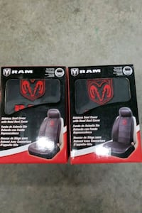Black and Red Bucket Seat Covets