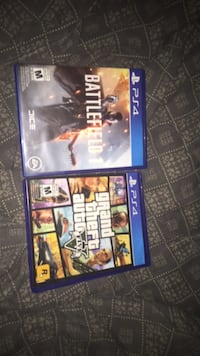 four assorted PS4 game cases Brampton, L6S 3J8