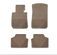 BMW X5 Weather-tech floor mats (front and back) Burke, 22015
