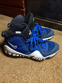 pair of blue-and-white Nike basketball shoes Alexandria, 22306