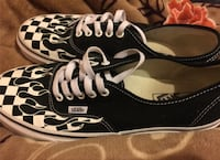 Vans with flame and checker size 9 South Houston, 77587