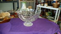 Stunning crystal punch/fruit bowl SOUTHBEND