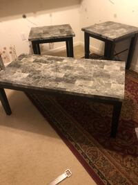 Coffee table and 2 end tables Omaha, 68144