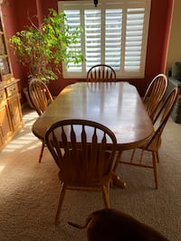 Dining table and chairs - solid oak  Modesto, 95355