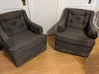 2 Club chairs