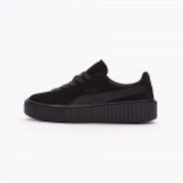 good texture genuine shoes reasonably priced Used Puma Rihanna fenty suede creeper black satin for sale in ...