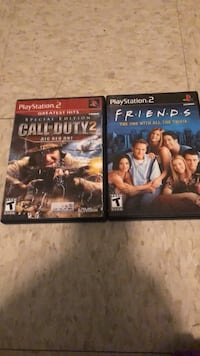 Console Game Playstation 2  Greatest hits  call of duty 2 & Friends Houma, 70364