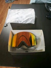 Dragon Alliance NFSx Snowbaording goggles with night Lens