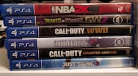PS4 PS3 PSP Games Mississauga, L5C 3M2
