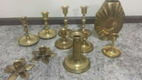 Brass lot made in India /Two pieces Japan made Edmonton