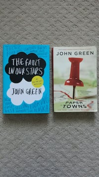 John Green Books Fault in Our Stars & Paper Towns Caledon, L7C 2H1