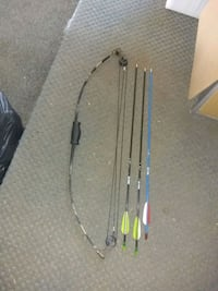 Youth compact bow and three arrows Summerville